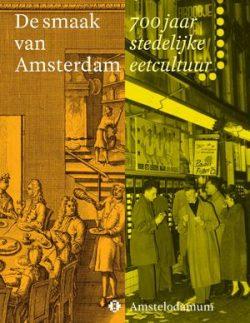De smaak van Amsterdam boekcover