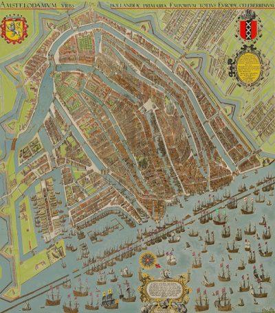 Historische plattegrond Pieter Bast