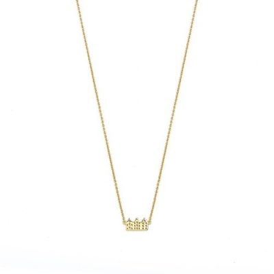Canal Ketting Verguld