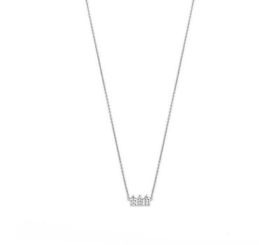 Canal ketting Zilver