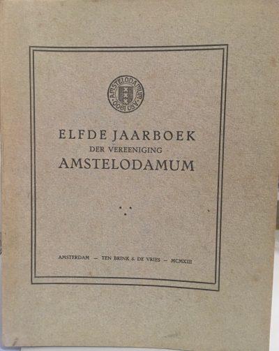 Elfde Jaarboek Amstelodamum
