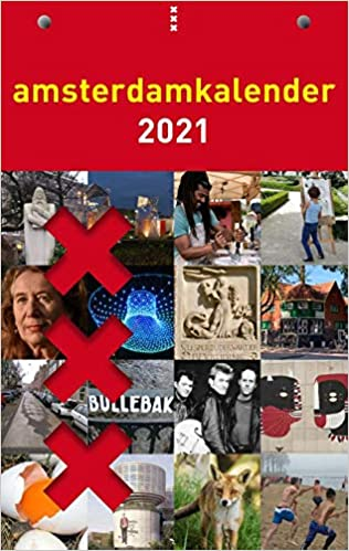 Amsterdamkalender 2021, ,9789090333717