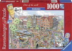 Ravensburger legpuzzel Amsterdam, 4005556191925